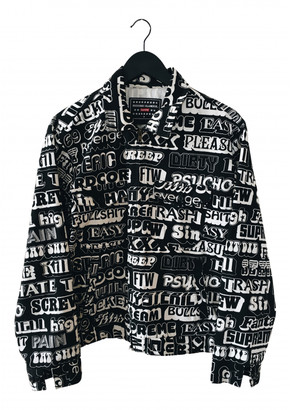 Supreme Black Cotton Jackets