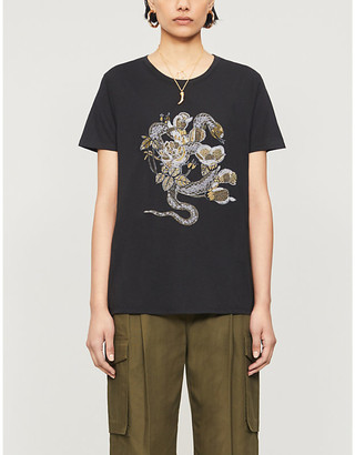 Zadig & Voltaire Aria cotton and modal-blend T-shirt