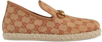 Gucci Women's GG canvas loafer