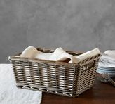 Pottery Barn Willow Low Basket