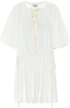 Lee Mathews Exclusive to Mytheresa Cotton midi dress