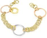 Torrini Fiesole - Three-tone 18K Gold Circles Chain Bracelet