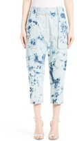 Women's Victor Alfaro Shibori Denim Cargo Pants