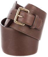 Rene Lezard Leather Waist Belt