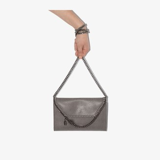 Stella McCartney grey Falabella mini cross body bag