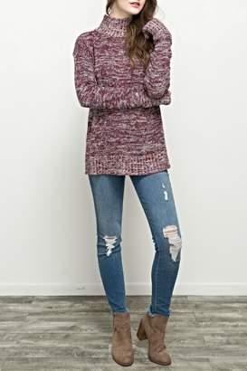 Hem & Thread Tulip Back Sweater
