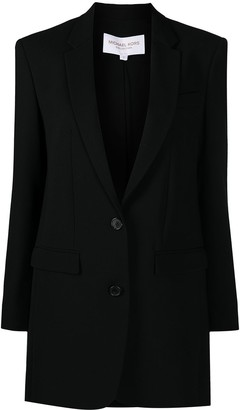 MICHAEL Michael Kors Single-Breasted Wool Jacket