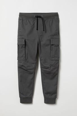 H&M Cargo Pants - Gray