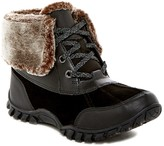 Easy Spirit Esnuria Waterproof Faux Fur Trim Boot