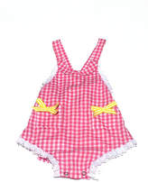 Runaway Pony Gingham Sunsuit