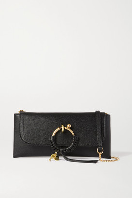 See by Chloe Joan Textured-leather Shoulder Bag - Black