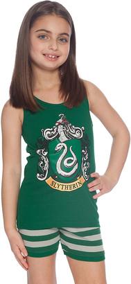 Intimo Girls' Sleep Bottoms P0056: - Harry Potter Slytherin Pajama Set - Girls