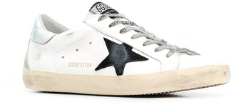 Golden Goose Superstar Leather Upper Suede Star And Spur Mirror