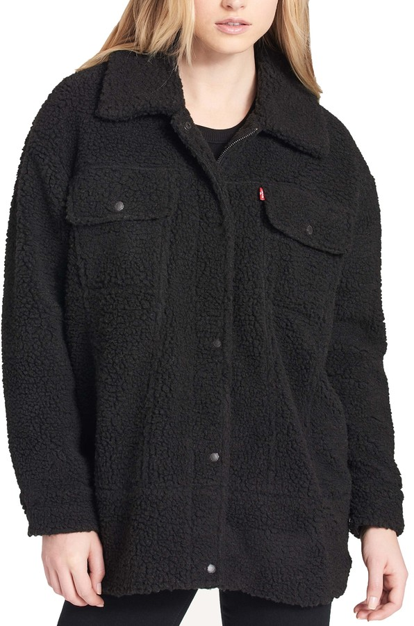 Thumbnail for your product : Levi's Women's Oversized Sherpa Trucker Jacket