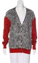 Cédric Charlier Wool Knit Cardigan