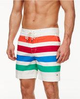 Tommy Hilfiger Men's Fremont Striped Board Shorts