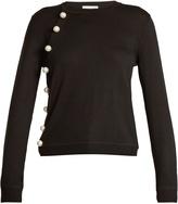 Altuzarra Minamoto asymmetric-front wool sweater
