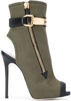 Giuseppe Zanotti Design 'Roxie' boots - women - Cotton/Leather - 35