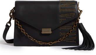 AllSaints Nina Studded Leather Crossbody