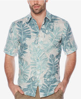 Cubavera Men's Palm-Print Linen Shirt