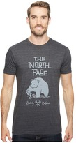 The North Face Short Sleeve Grizzly Tri-Blend Tee ) Men's T Shirt