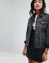 Pull&Bear Oversized Denim Jacket