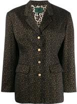 Jean Paul Gaultier Pre Owned floral print blazer