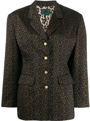 Jean Paul Gaultier Pre-Owned floral print blazer
