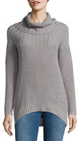 Context High-Low Ribbed Pullover