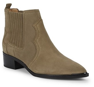 Marc Fisher Yohani Suede Ankle Booties