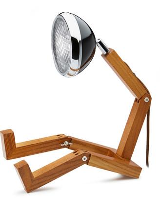 Ash Piffany Copenhagen - Fashion Black Wood and Aluminum Mr Wattson Lamp - Fashion Black