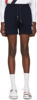 Thom Browne Navy Summer Shorts