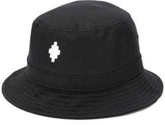 Marcelo Burlon County of Milan Embroidered Logo Bucket Hat