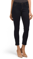 Zip Ankle Skinny Jeans