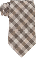 Geoffrey Beene Men's Effortless Gingham Tie