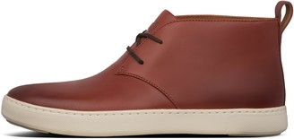 FitFlop Zackery Mens Leather Chukka Boots