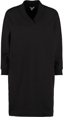 Kenzo Logo Print Cotton Sweatdress