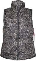 Rafaella Women's - Animal Print Packable Puffer Vest Jacket