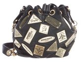 Jeremy Scott Plaque Bucket Bag