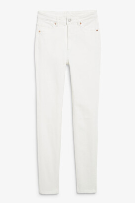 Monki Oki white jeans
