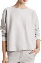 ATM Anthony Thomas Melillo Contrast Seam Boxy Sweater