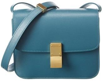 Celine Teen Classic Leather Shoulder Bag