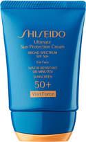 Shiseido Ultimate Sun Protection Cream Broad Spectrum SPF 50+ Wetforce For Face