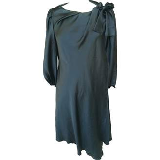 David Szeto Black Silk Dress for Women