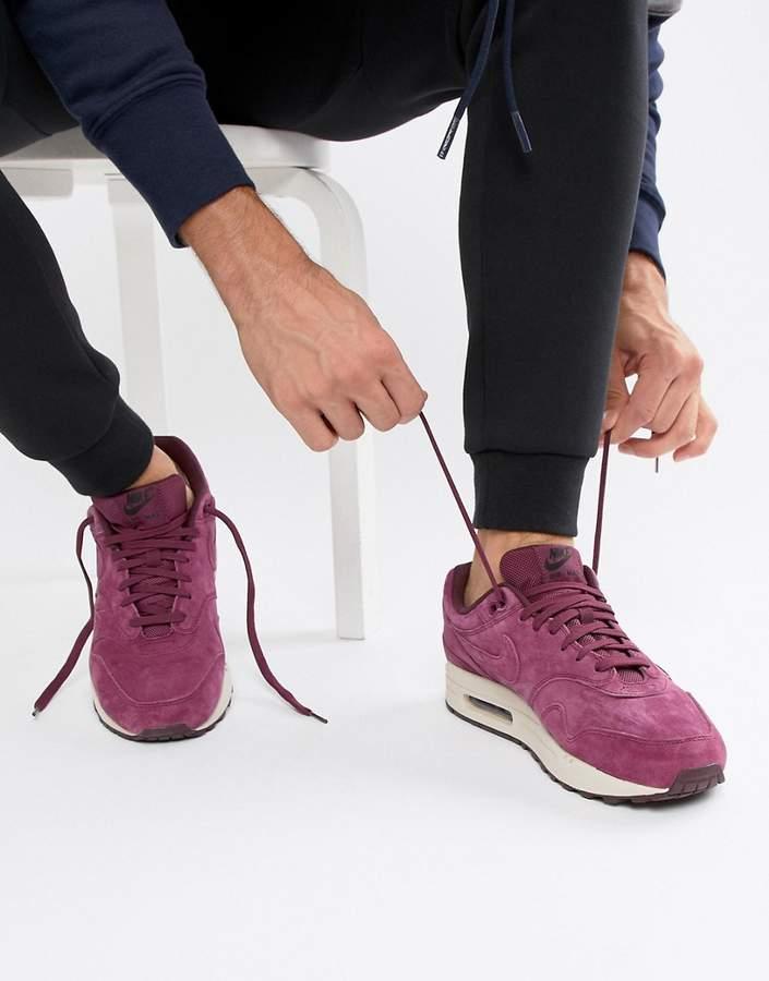 Nike 1 Premium Sneakers In purple 875844-602