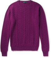 Etro - Cable-knit Cashmere Sweater