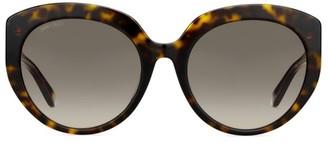 Jimmy Choo ETTYFS 57MM Cat Eye Sunglasses