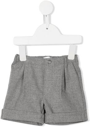 Il Gufo Mid-Rise Tailored Shorts