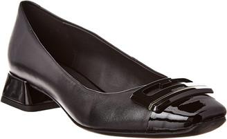Geox Vivyanne Ballerina Leather Flat