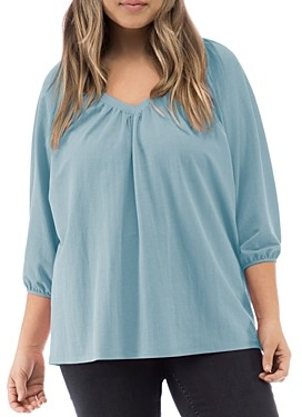 Baobab Collection Rosamonde Shirred Knit Top